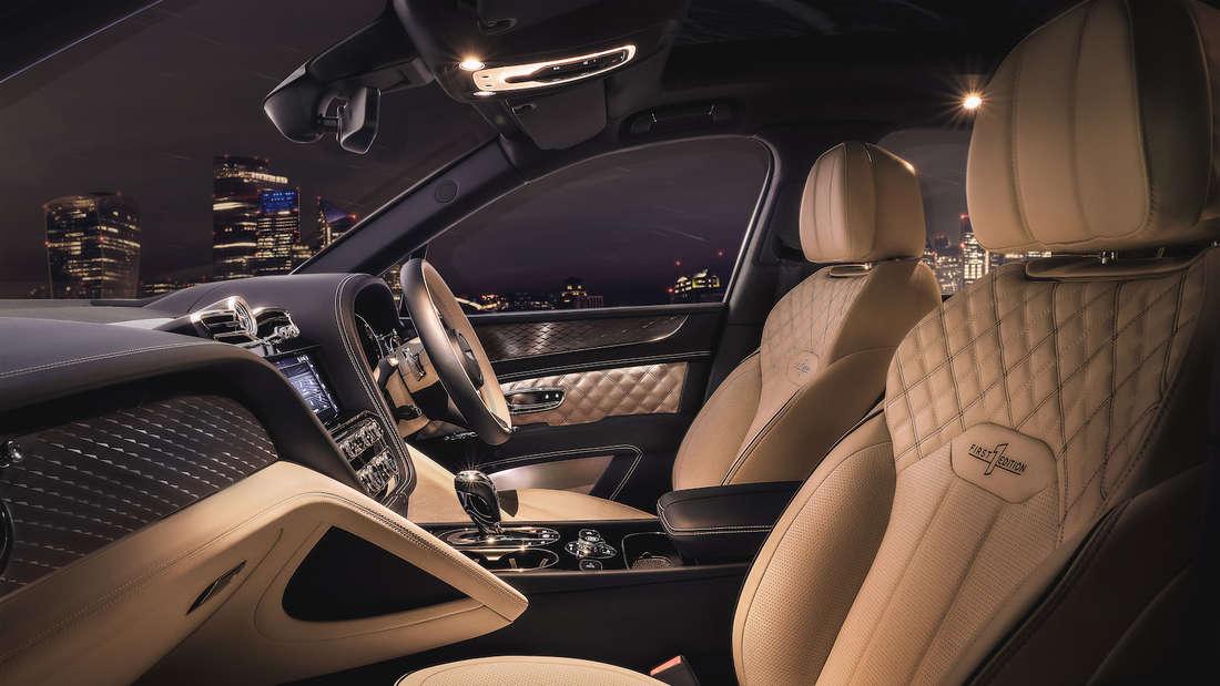 Interieur des Bentley Bentayga PHEV