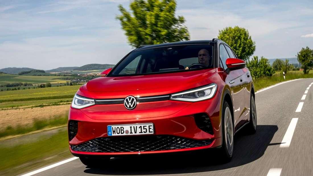 VW ID.4 GTX, fahrend