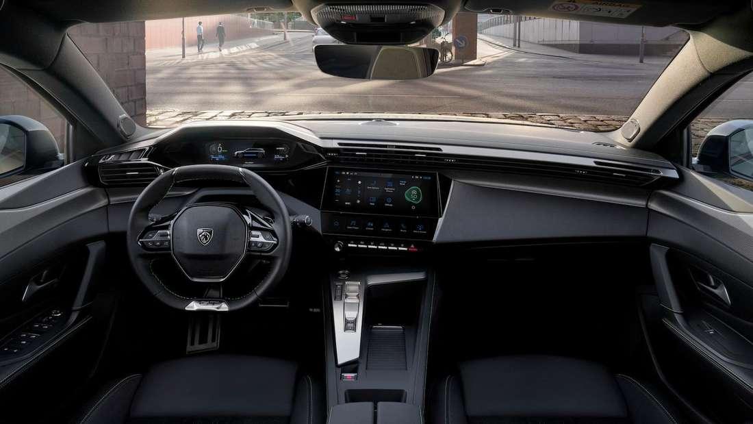Interieur des Peugeot 308 SW