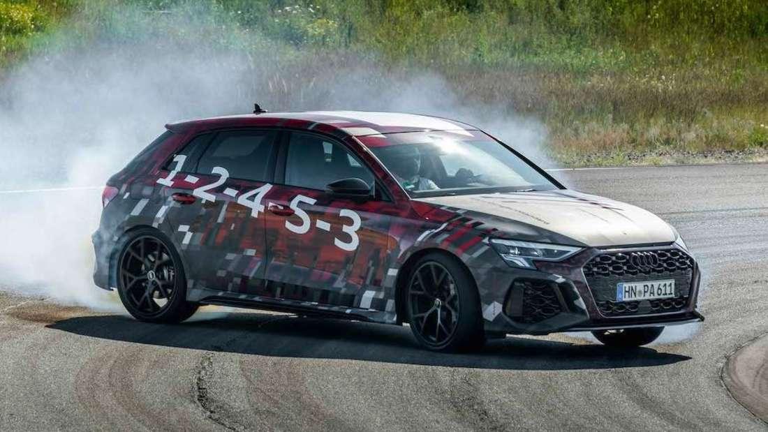 Audi RS3 im Drift