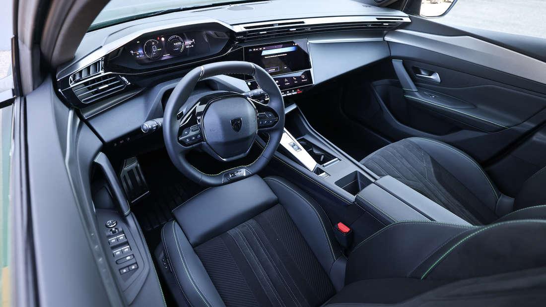 Interieur des Peugeot 308