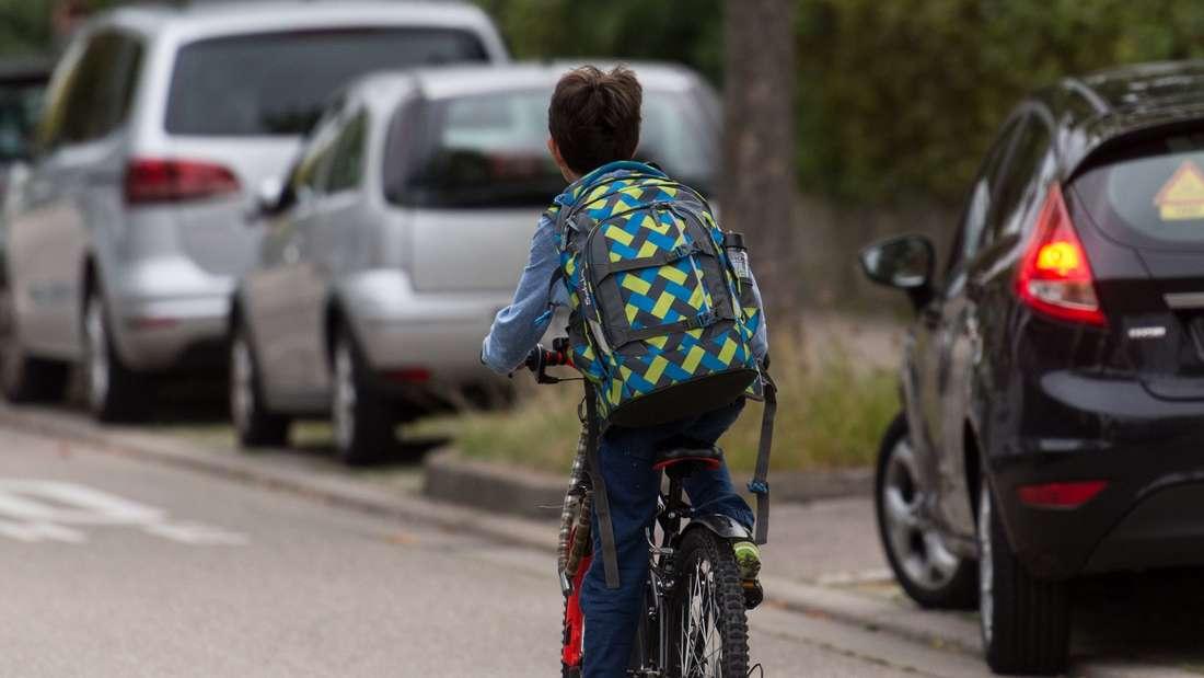 Kind im Straßenverkehr