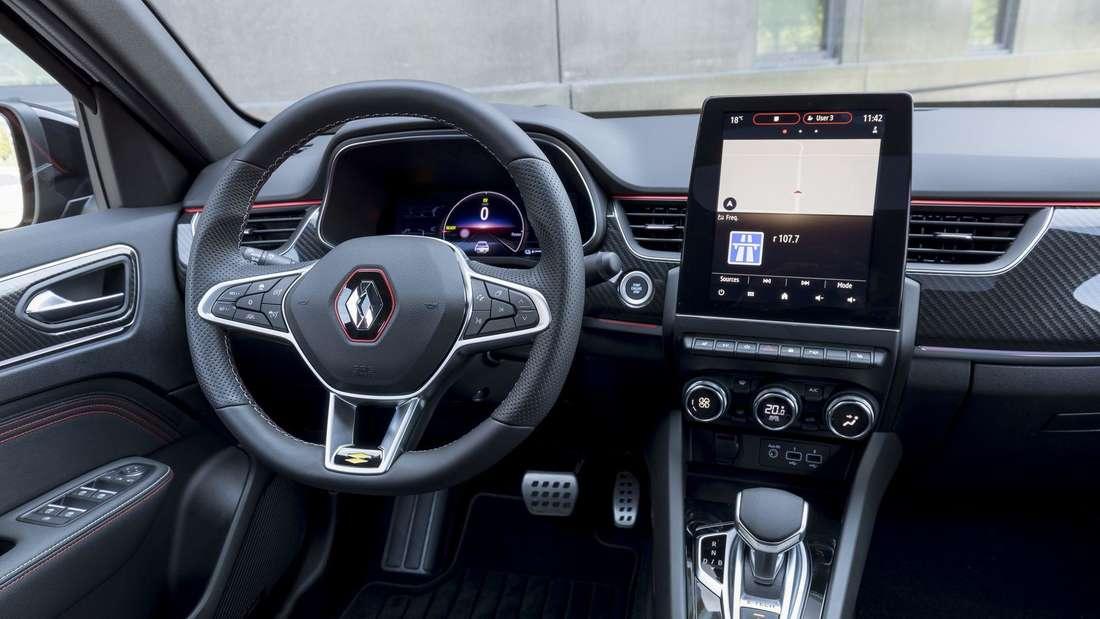Interieur des Renault Arkana E-Tech Hybrid 145