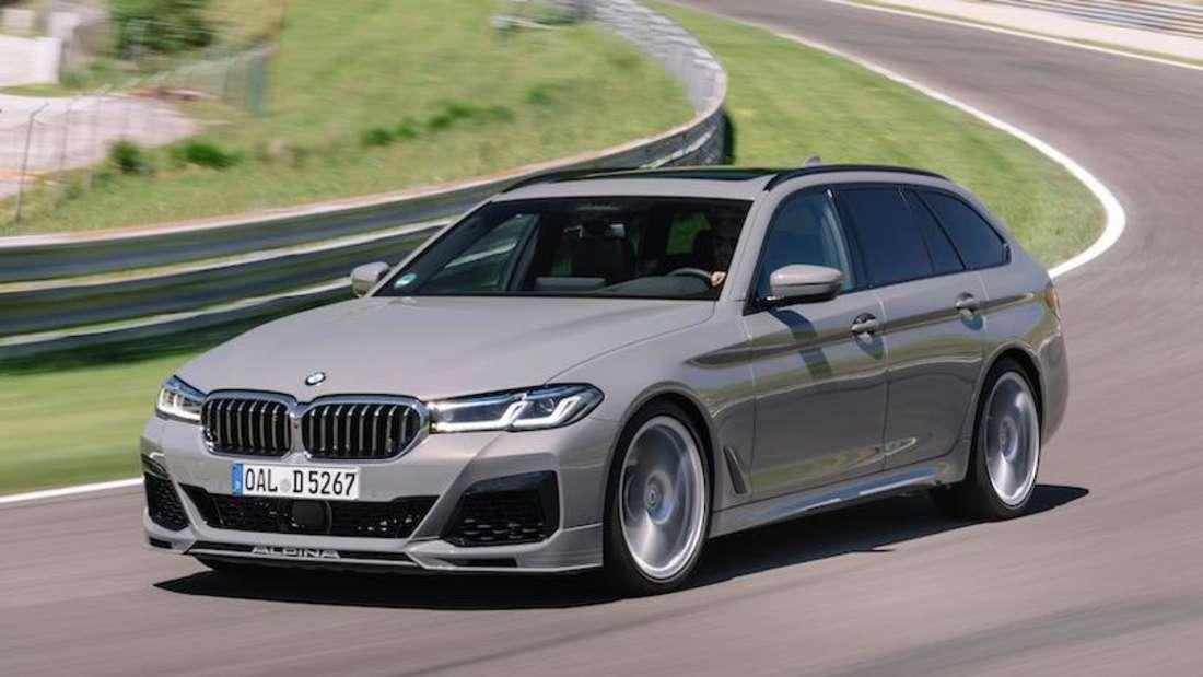 BMW Alpina D5 S, fahrend