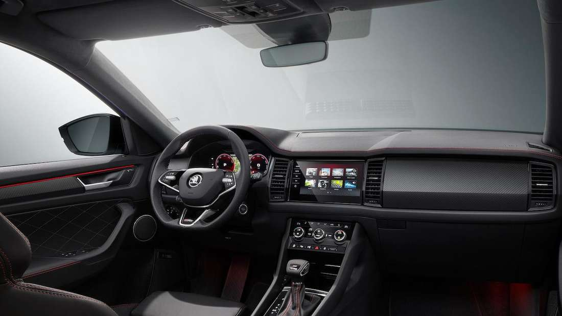 Interieur des Škoda Kodiaq RS