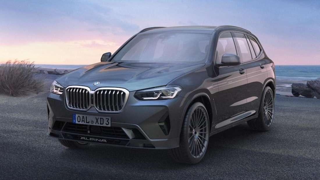 BMW Alpina XD4, stehend