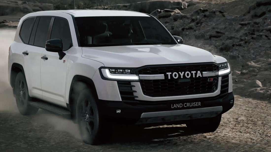 Toyota Land Cruiser, fahrend