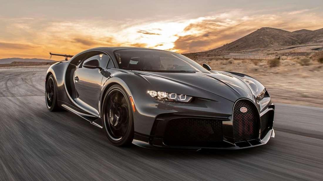 Bugatti Chiron Pur Sport, fahrend