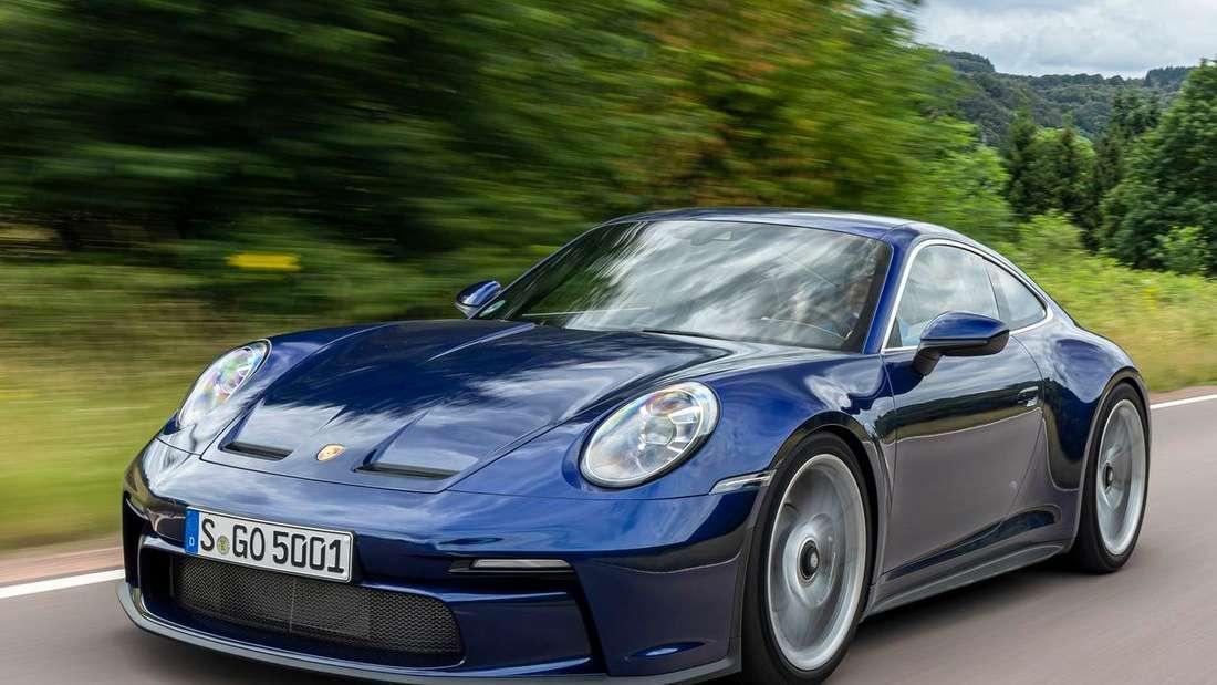 Porsche 911 GT3 mit Touring Paket, fahrend