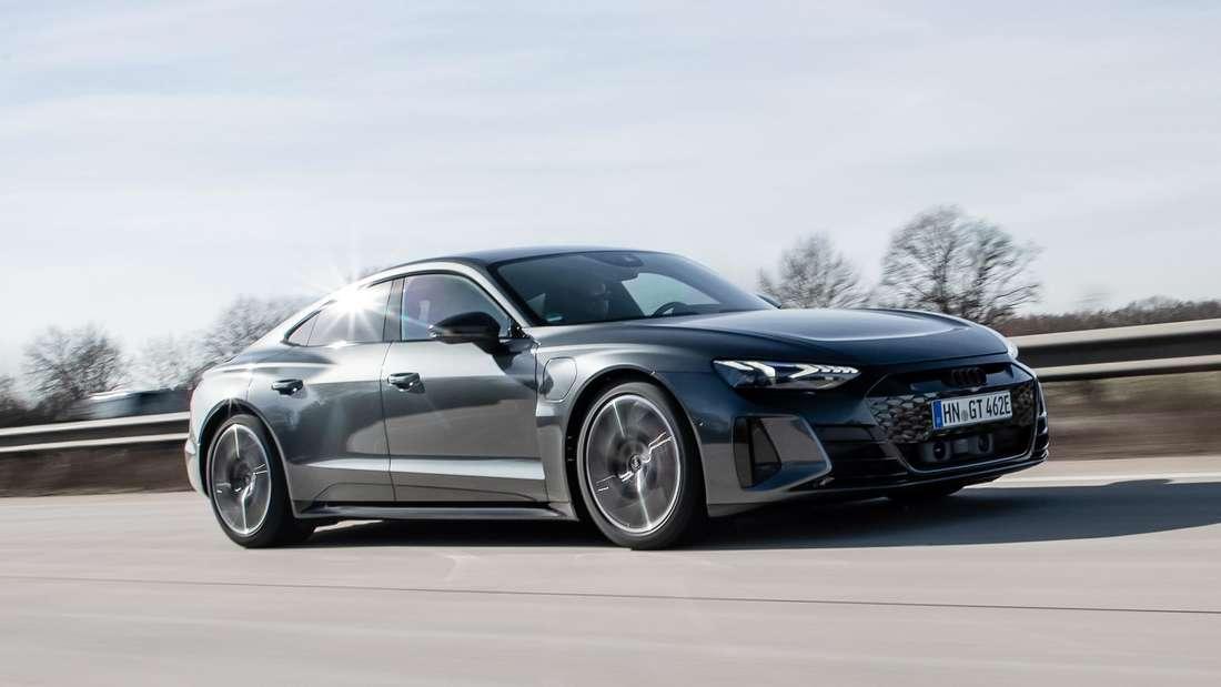 Audi e-tron GT, fahrend