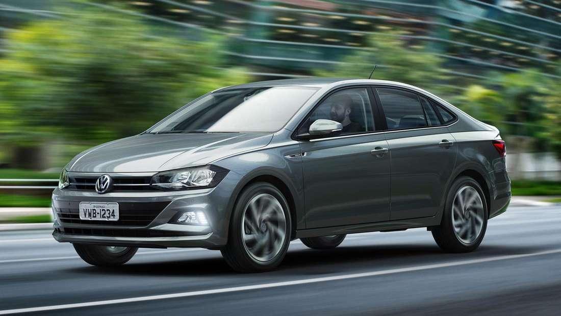 VW Virtus, fahrend