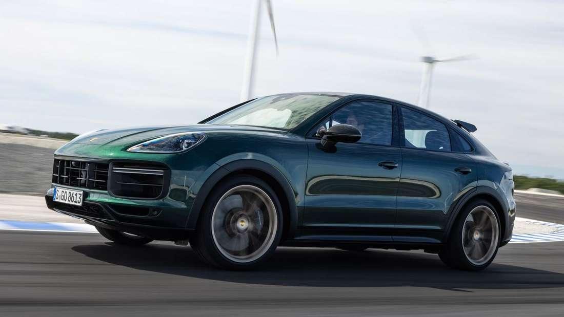 Porsche Cayenne Turbo GT, fahrend