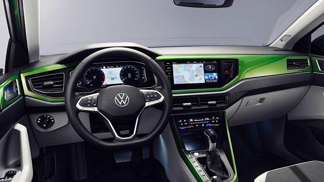 Interieur des VW Taigo