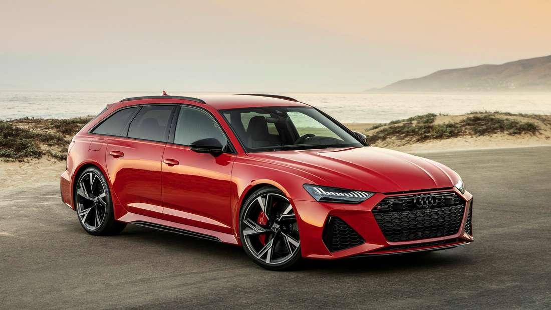 Audi RS 6 Avant, stehend