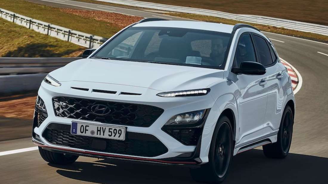 Hyundai Kona N, fahrend