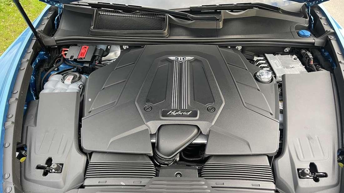 Der V6-Turbo-Benziner des Bentley Bentayga Hybrid