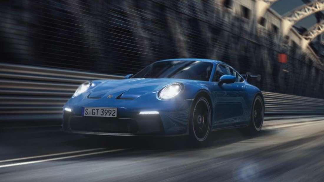 Porsche 911 GT3, fahrend (Symbolbild)