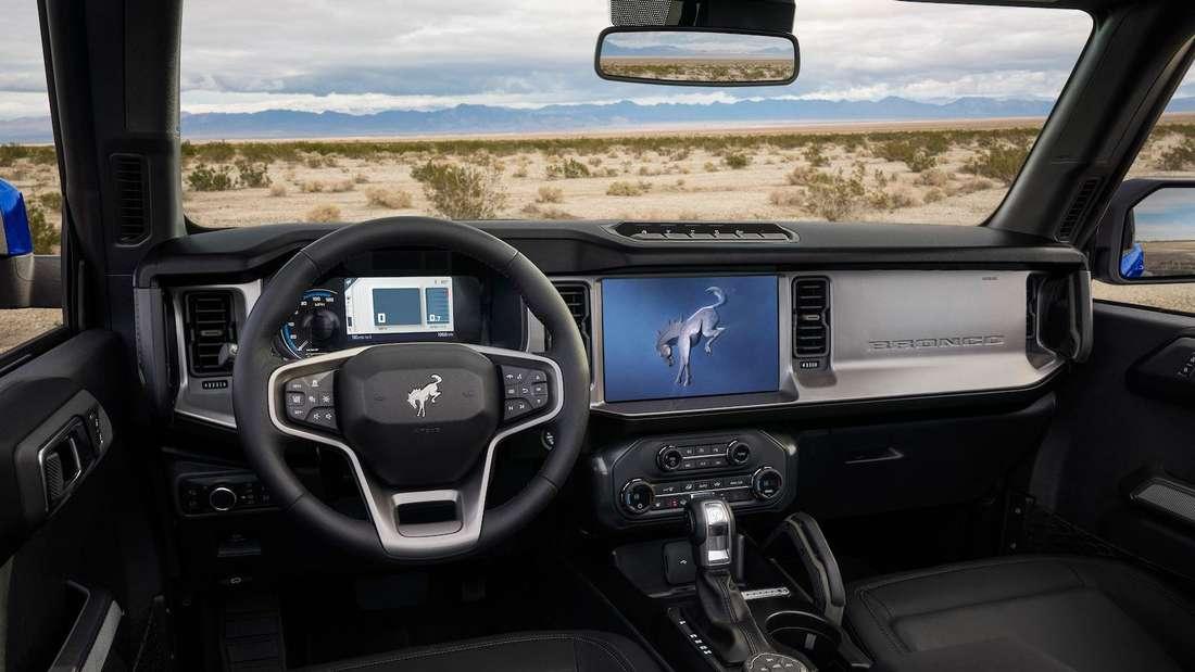 Interieur des Ford Bronco