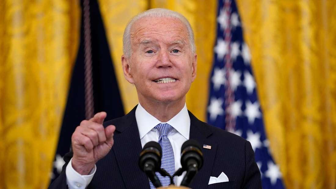 US-Präsident Joe Biden (Symbolbild)