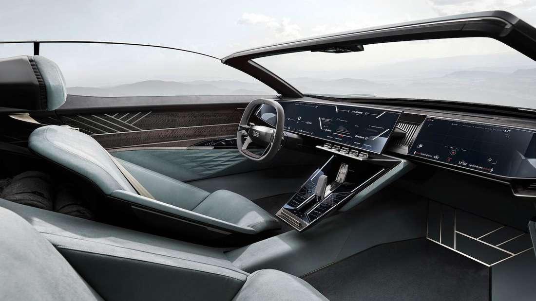 Interieur des Audi Skysphere Concept