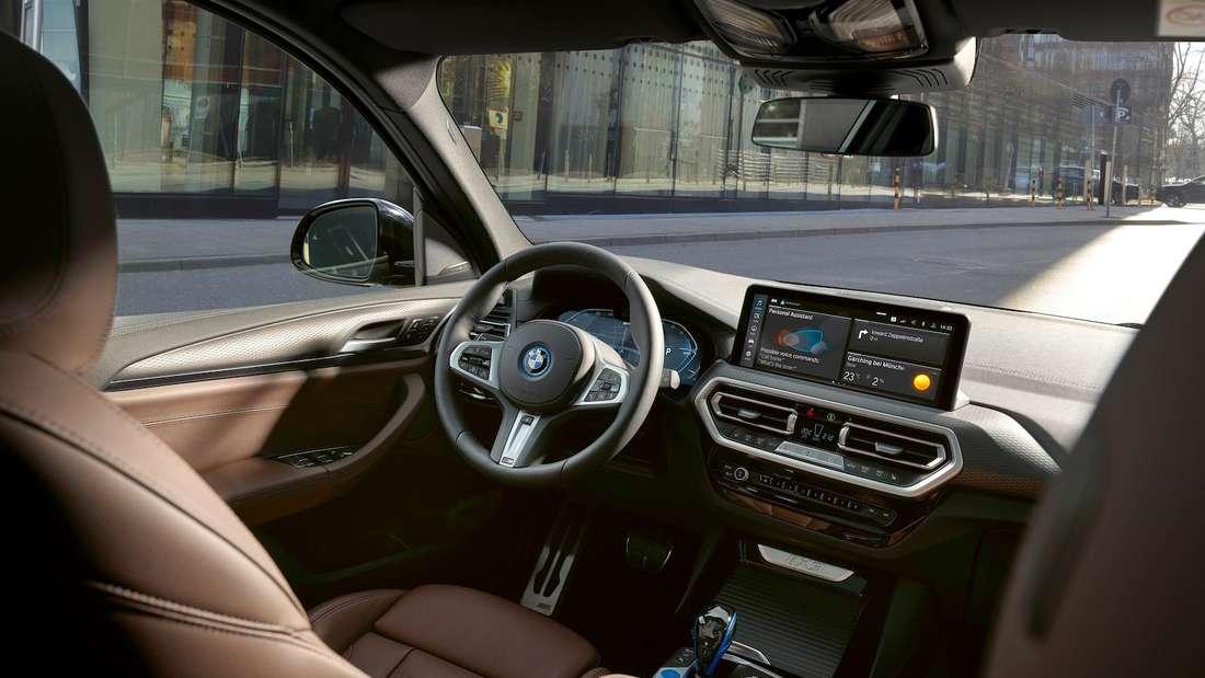 Interieur des BMW iX3