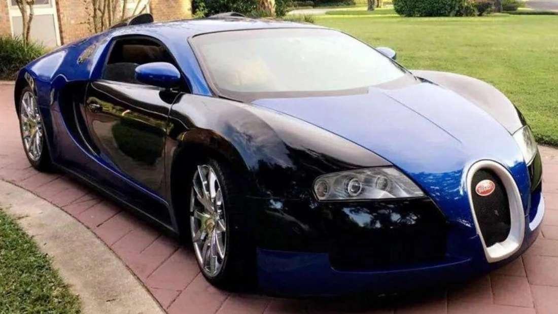 Umbau eines Mercury Cougar im Design eines Bugatti Veyron