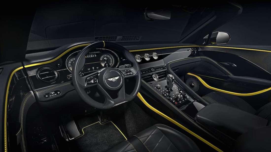 Interieur des Bentley Bacalar