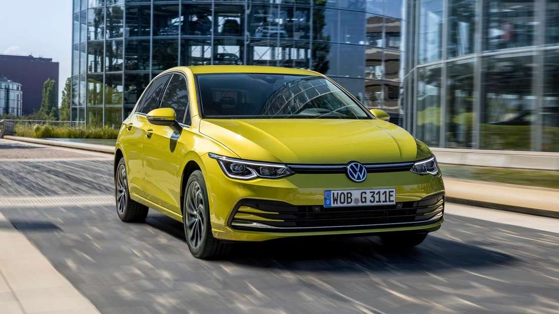 VW Golf eHybrid, fahrend