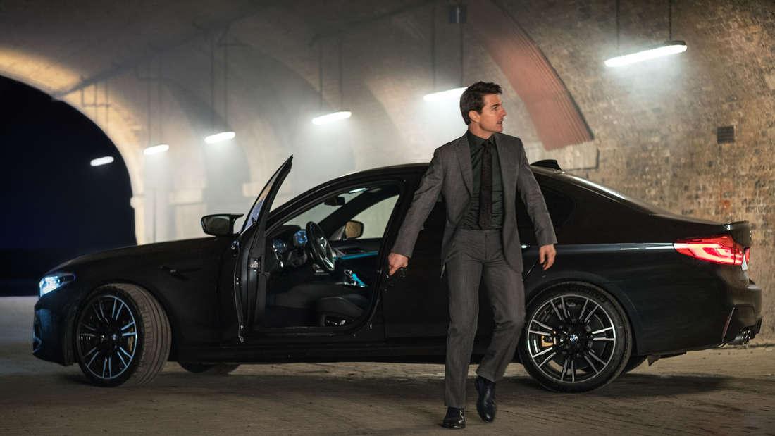 "Szene mit Tom Cruise und BMW M5 im Film ""Mission: Impossible – Fallout"" (Symbolbild)"