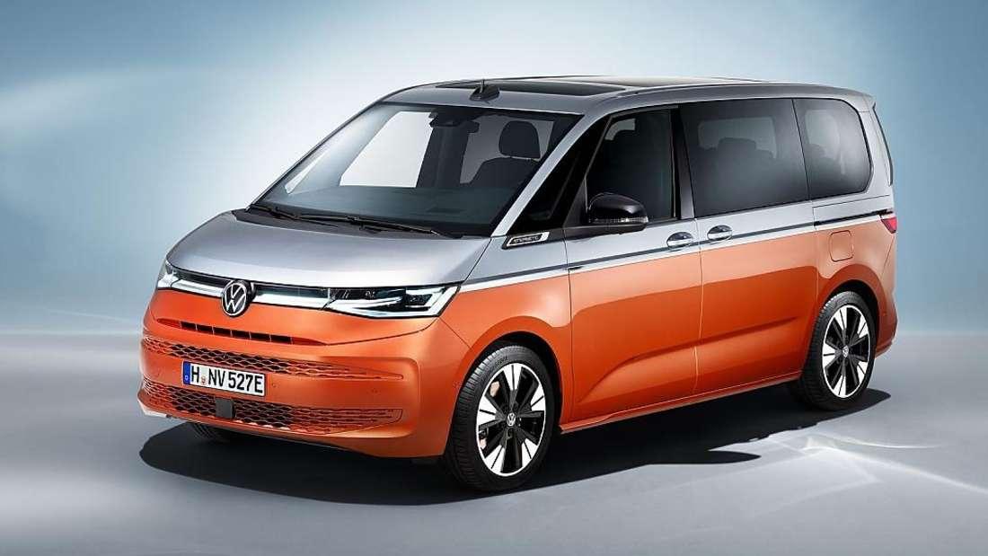 EIn VW Multivan T7