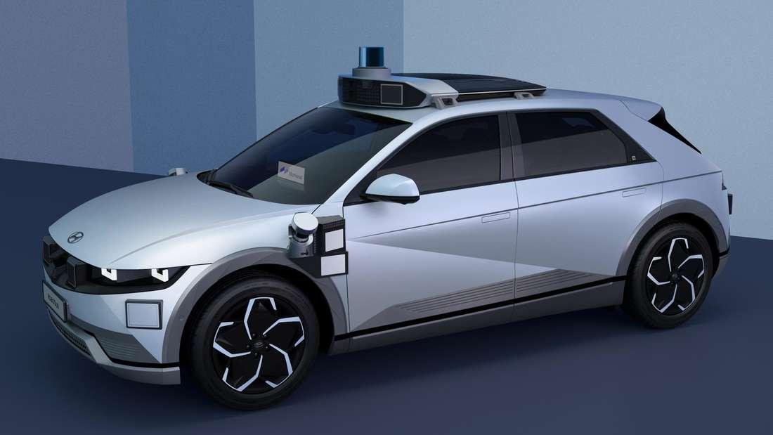 Hyundai Ioniq 5 mit Robotaxi-Technologie