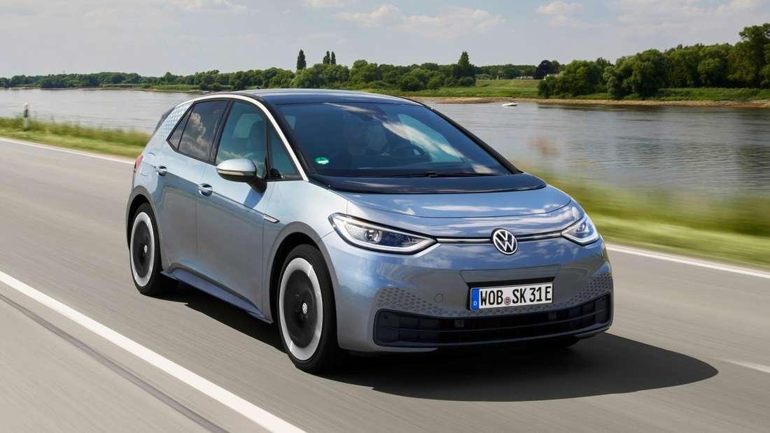 VW ID.3, fahrend