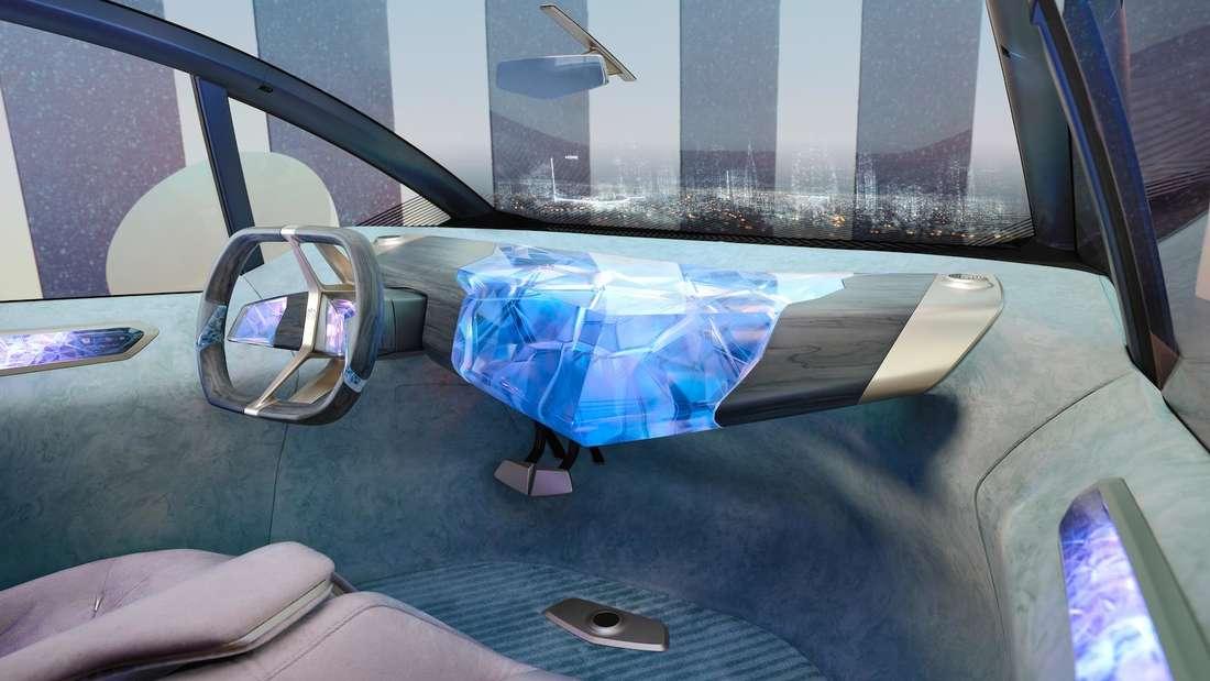 Blick in den Innenraum der BMW-Studie i Vision Circular