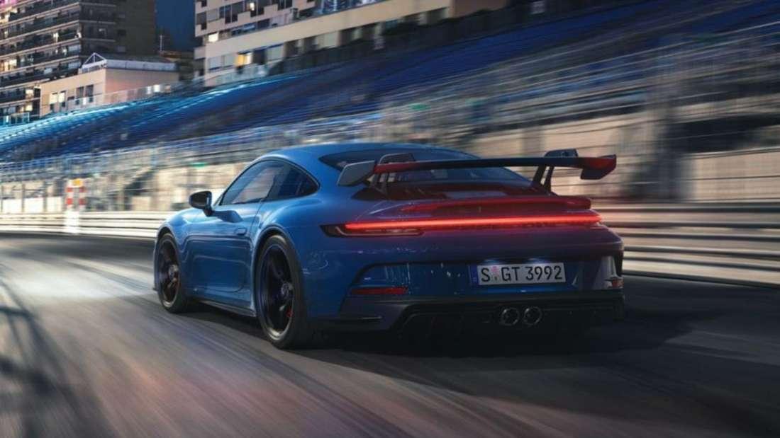 Porsche 911 GT3, fahrend
