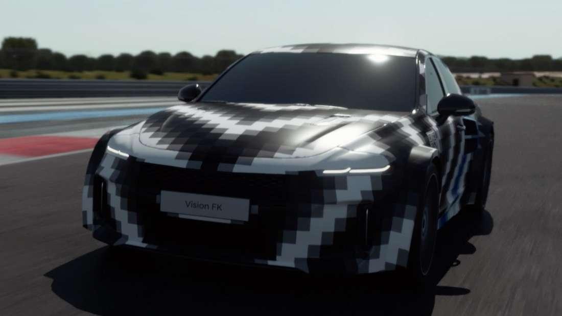 Die Hyundai-Sportwagen-Studie Vision FK