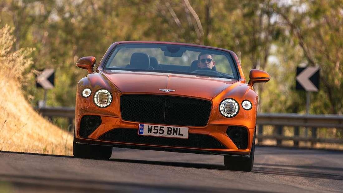 Bentley Continental GTC Speed, von vorn