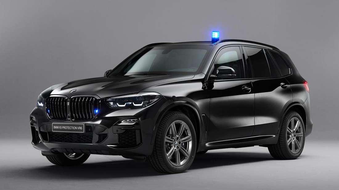 BMW X5 Protection, stehend