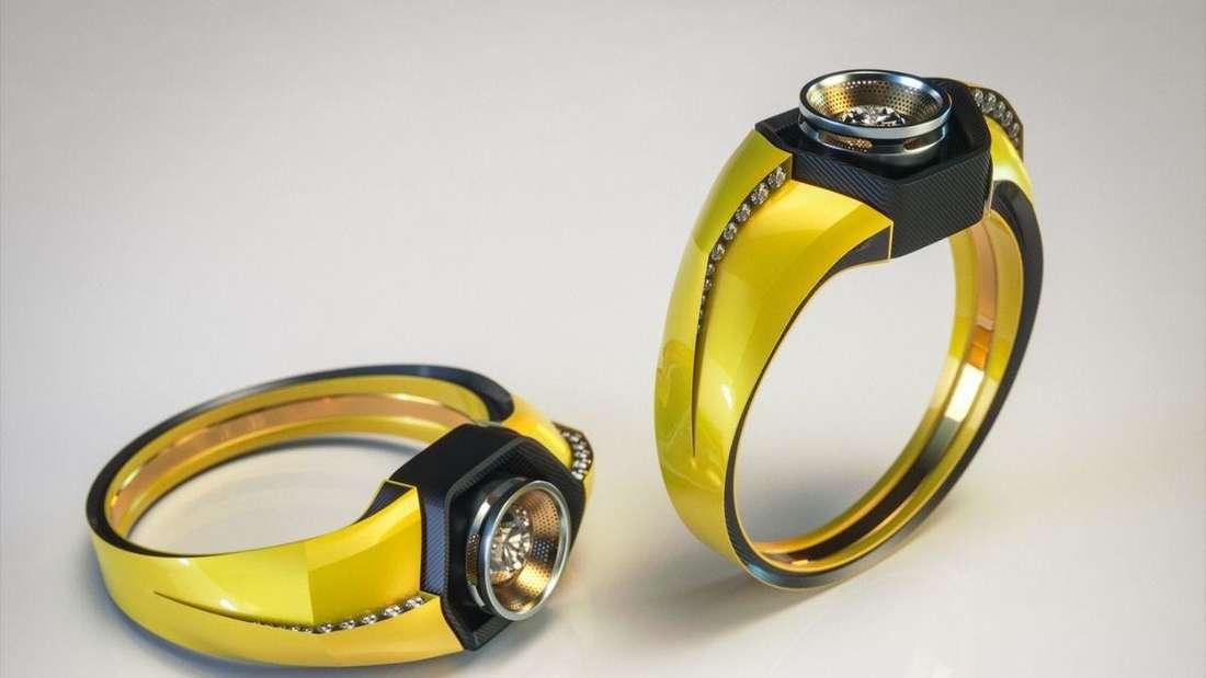 Ein Verlobungsring im Lamborghini-Stil