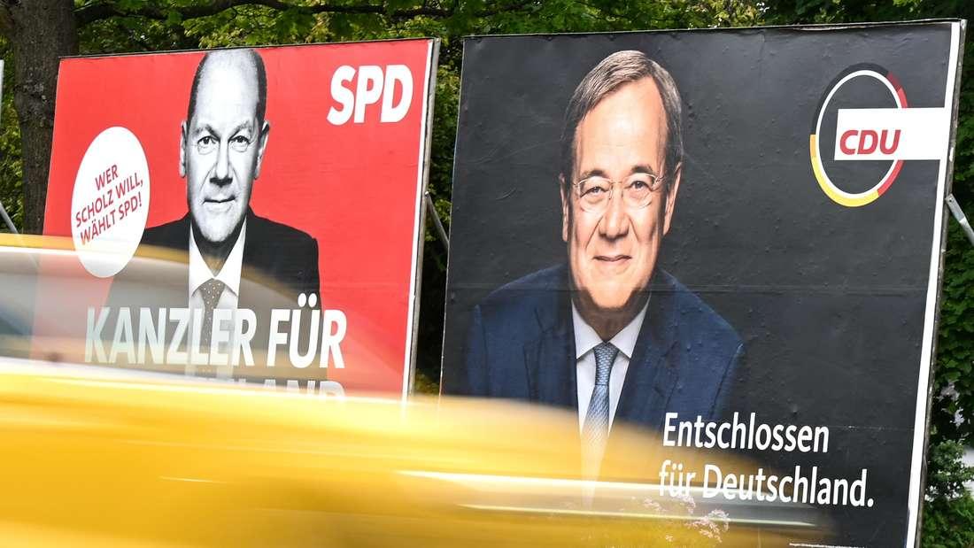 Wahlplakate in Frankfurt am Main (Symbolbild)