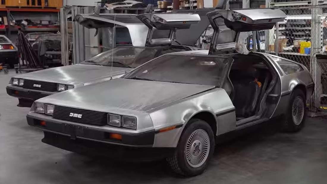 DeLorean-Werk in YouTube-Video