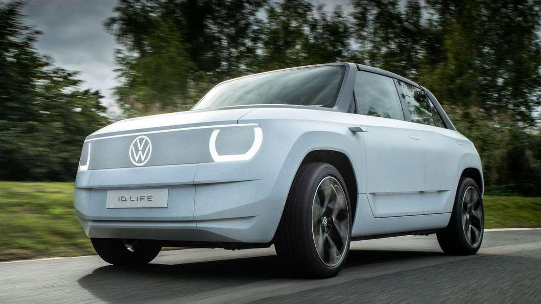 VW ID.Life, fahrend