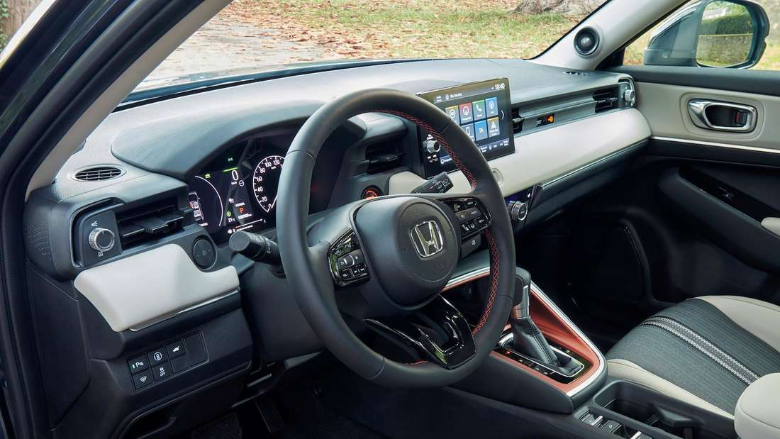 Interieur des Honda H-RV e:HEV