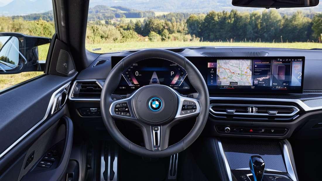 Interieur des BMW i4 M50
